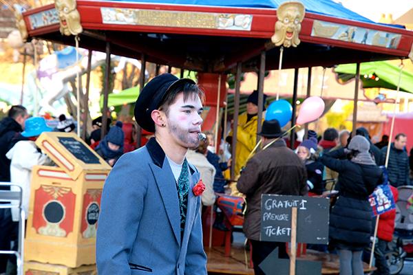 Un carrousel pour Noël ©T.Princep/CCAS