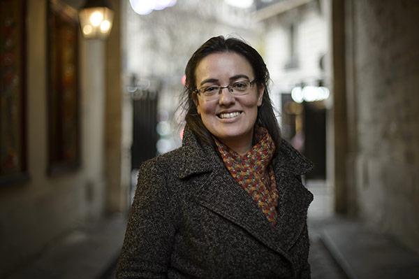 Sophie Béroud, universitaire©J.Millet/ccas