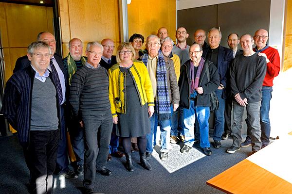 Rencontre amicale autour de la nouvelle édition du Maitron en présence de son directeur Paul Boulland et du président de la CCAS Michaël Fieschi ©B.DeCamaret/ccas
