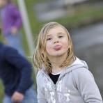 Juliette Chague, 6 ans, en février 2014 à Gèdre©ccas