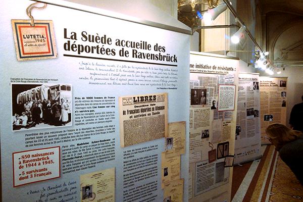 Exposition Lutetia, 1945 le retour des déportés©Sophie Chyrek/ccas