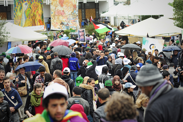 El Manar Coeur battant du dernier forum social mondial © Joseph Marando/CCAS