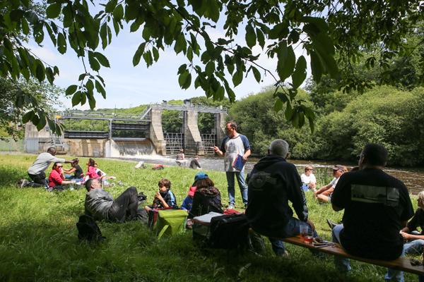 Pause déjeuner sur l'herbe © Charles Crié/CCAS