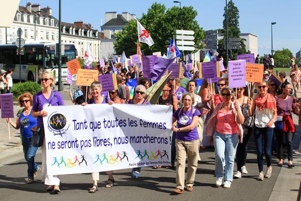 © Charles Crié/CCAS La marche des Femmes à Nantes en Juin 2015