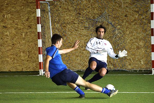 Tournois National Futsal 2015 à Ste Marie. L'équipe gagnante représentera la france au tournois international à Paris du 29 septembre au 4 octobre 2015©D.Delaine/ccas