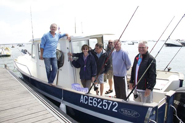 © Noémie Coppin Les pêcheurs avant le départ