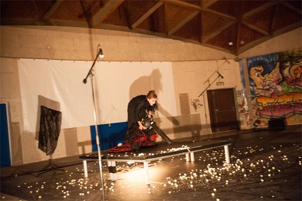 Cristina Hall, danseuse de la compagnie Yann Lheureux © S.Le Clézio/ccas