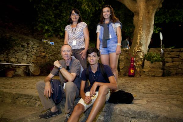 Sylvie et Bernard Muller ainsi que leurs enfants Emma et Tanguy © Philippe Marini/ccas