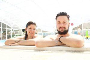 Niels Andersson et Stéphanie bénéficiaires de Chinon © Noémie Coppin/ccas