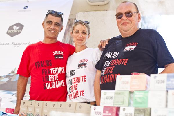 Omar Dahmani Cynthia Sanchez et Dominique Basset © Philippe Marini/ccas