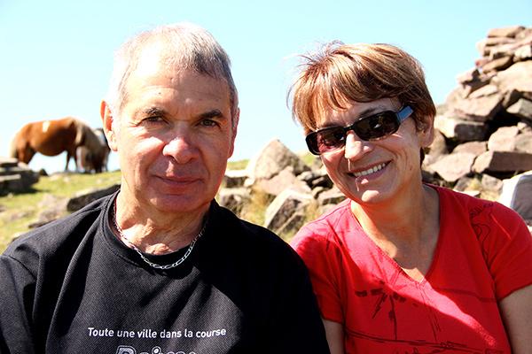 Jean-Pierre et Marie-Christine Robert, bénéficiaires de Troyes©N.Coppin/ccas