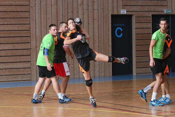 R.N.S. de Handball en Val de Loire © Charles Crié/ccas