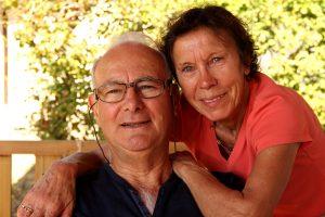 Gérard et Thérèse Uguen bénéficiaires de Nantes © Noémie Coppin/ccas