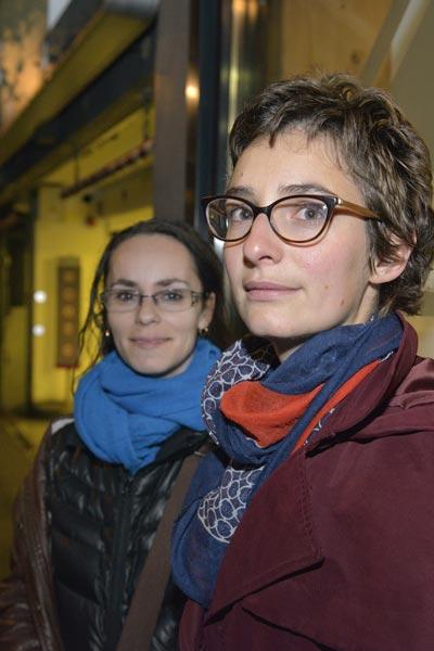 Marie-Line auteure et Marie Metteur en scène © Didier Delaine/ccas