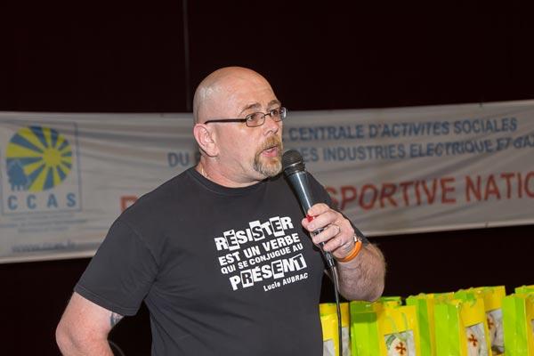 Emmanuel Salles Président le commission Activités Physiques Sportives et de Loisirs © Eric Raz/ccas