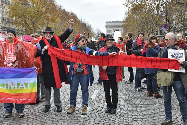 Manifestants COP21, Paris, 12 décembre 2015 © D. Delaine/CCAS