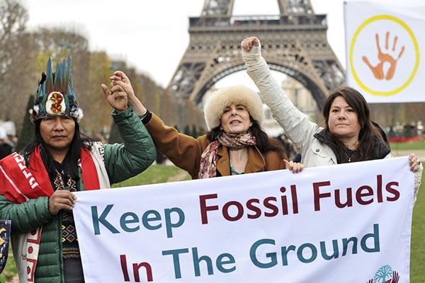 Indigène COP21, Paris, 12 décembre 2015 © D. Delaine/CCAS