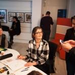 Isabelle Dethan, auteur et dessinatrice de BD © Sébastien Le Clézio/CCAS