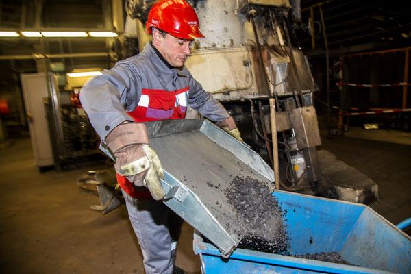 Technicien d'usine à charbon, Allemagne © Eric Raz