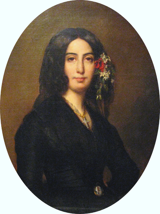 Georges Sand © CC-BY-01 Auguste Charpentier (1813-1880)