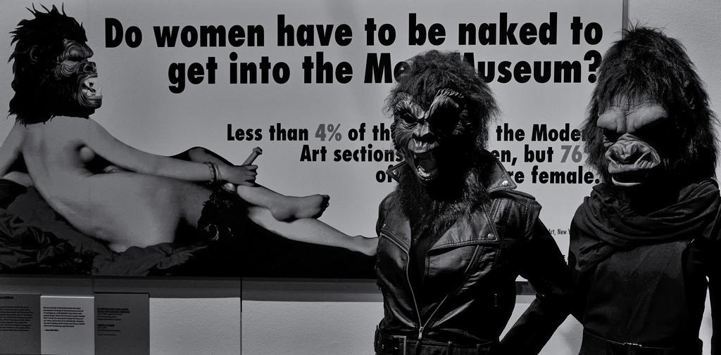 Guerrilla Girls - V&A Museum, London