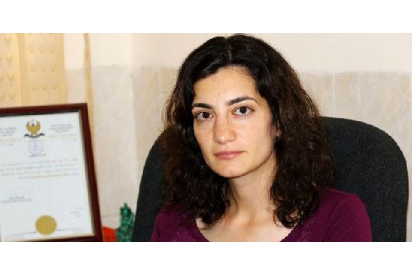 Meral Cicek, présidente du Mouvement des femmes kurdes © DR