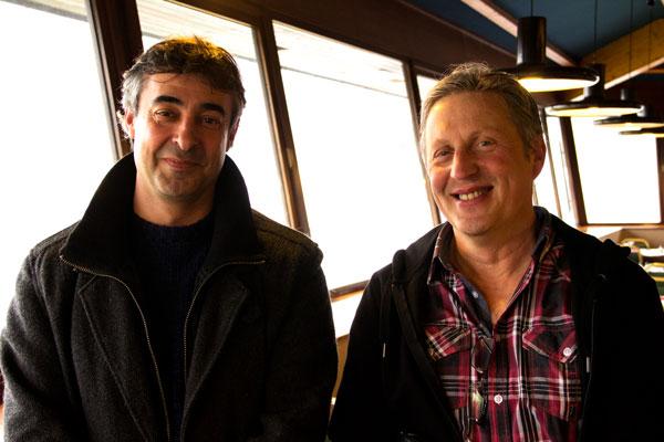 Jean-Maurice Darboucabe, président de la CMCAS Béarn-Bigorre, et Patrick Raynaud, vice-président © Noémie Coppin