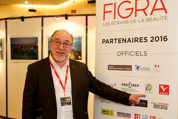 Georges Marque-Bouaret, délégué général du FIGRA © Charles Crié/CCAS