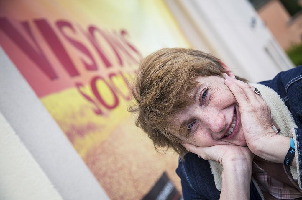 """Françoise Davisse, réalisatrice du film """"Comme des Lions"""" ©E.Raz/ccas"""