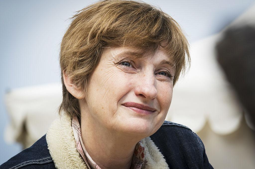"""Françoise Davisse, la réalisatrice du film """"Comme des lions"""". © Eric RAZ/CCAS"""