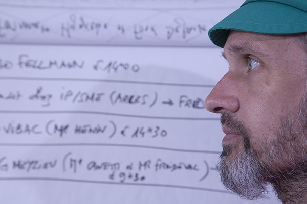 Yves Flohic, responsable logistique ©E.Raz/ccas