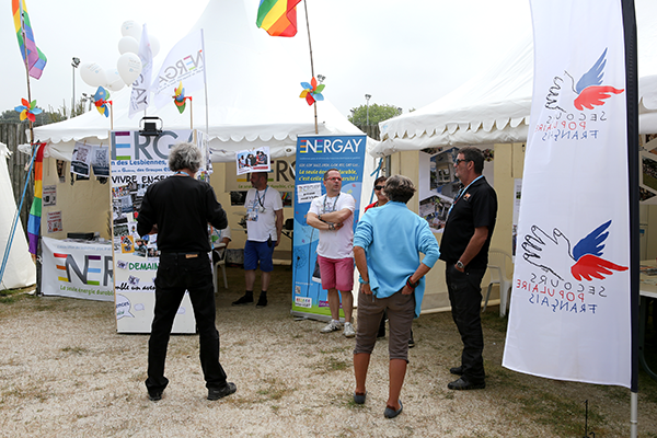 SOULAC 2016, Espace partenaires, stand Energay © Charles CRIE/CCAS