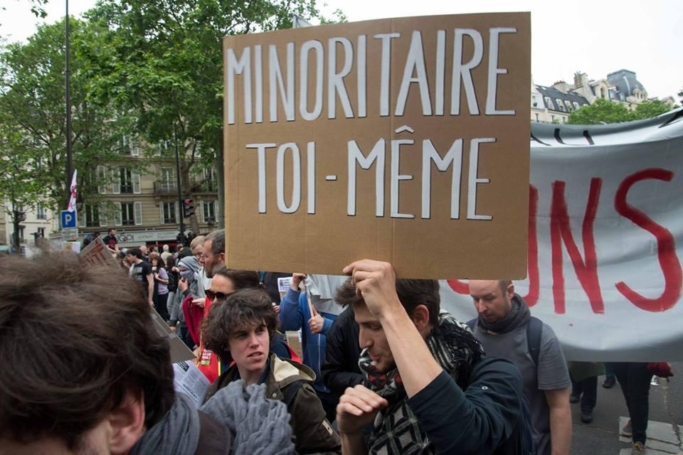 Manifestation contre la loi El Khomery le 26 mai à Paris © Nathalie Durepaire