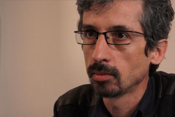 Jean-Marc Manach est journaliste d'investigation. Capture d'écran de l'interview.