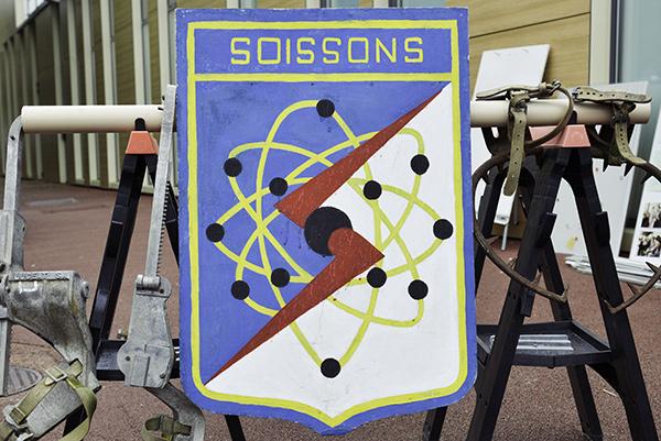 Blason de Soissons©D.Delaine/ccas