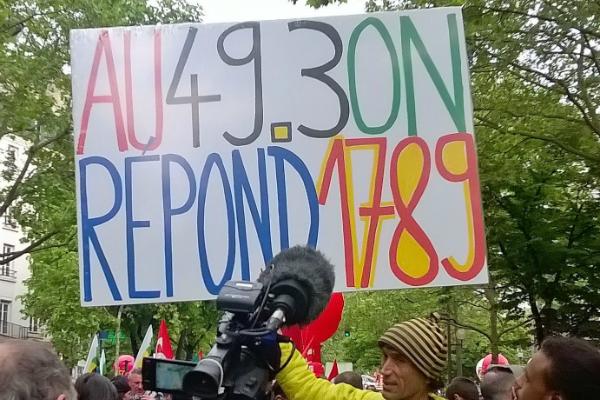 Sept fédérations syndicales appellent à une manifestation contre la loi travail © S. Gravier/ccas