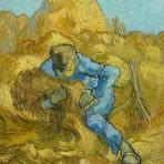 « Le Botteleur » (d'après Millet)