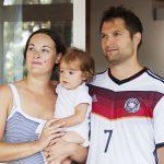 Franck Leglise avec sa famille - © S.Le Clezio/ccas