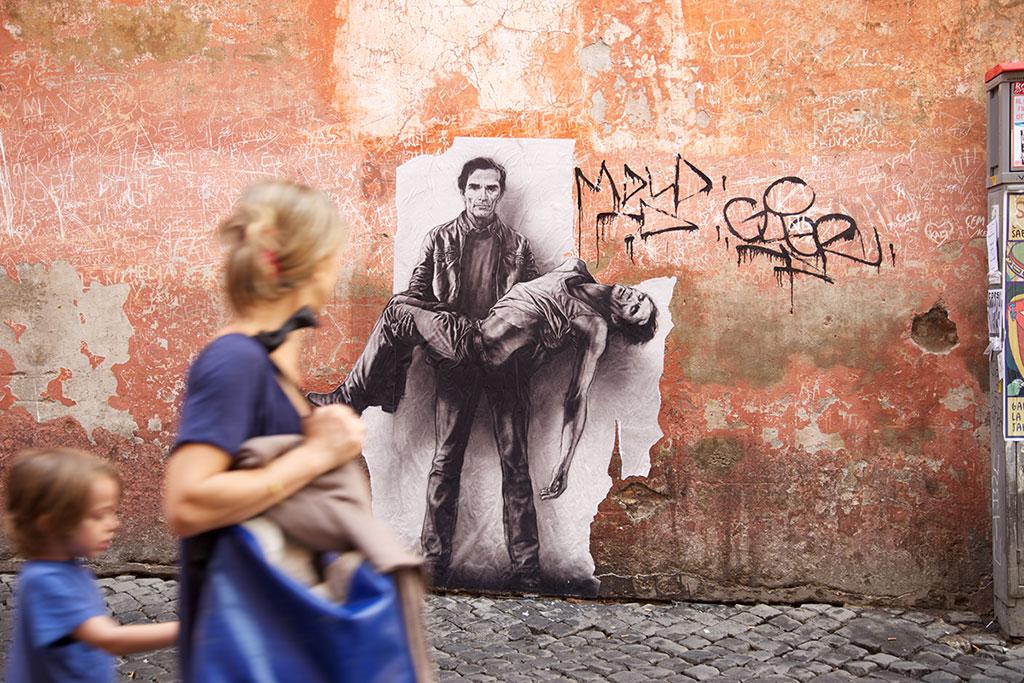 Si je reviens, Parcours Pasolini, Rome, 2015