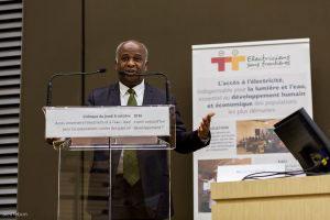 Edouard Dahomé, conseiller de Jean-Claude Houssou, ministre de l'Energie, de l'Eau et des Mines du Bénin ©A.Lebon/Electriciens sans frontières