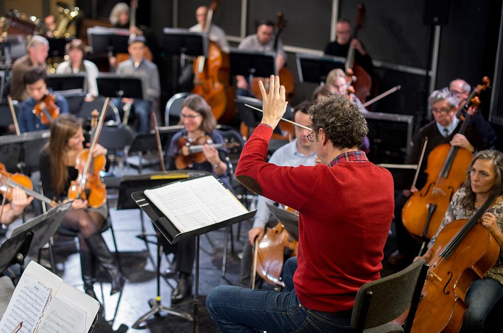Orchestre EDF - Chef d'orchestre Michaël Cousteau ©J.Millet/CC