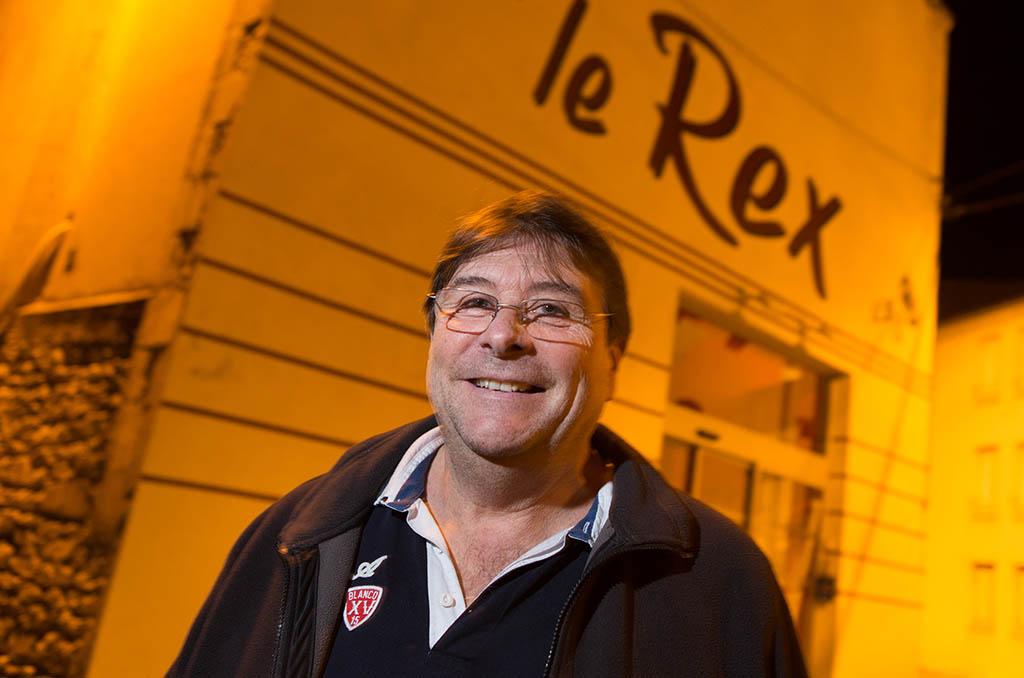 Jacques Taupeau, retraité EDF, projectionniste bénévole au Rex pour Chauvigny Cinéma et administrateur de la CMCAS de Poitiers. ©C.Crié/CCAS