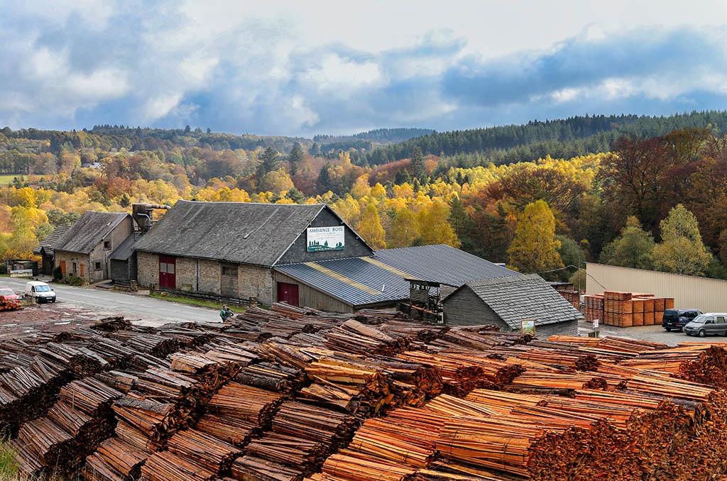 SAPO (Société Anonyme à Participation Ouvrière) Ambiance Bois en Limousin. ©C.Crié/CCAS