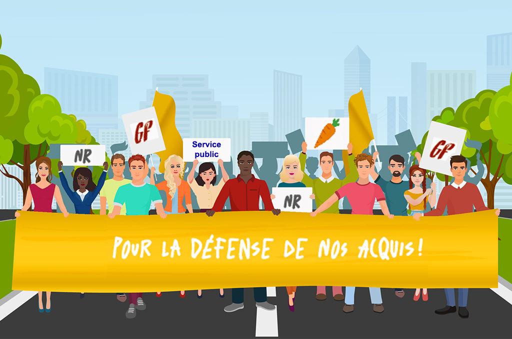 Le Droit De Greve Le Journal Des Activites Sociales De L Energie