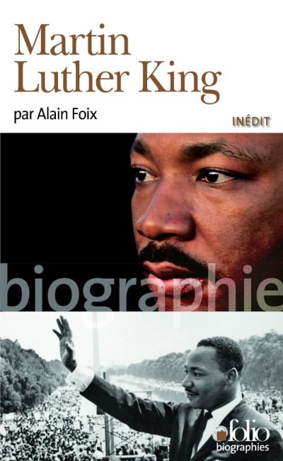 Couverture du livre Martin Luther King, d'Alain Foix