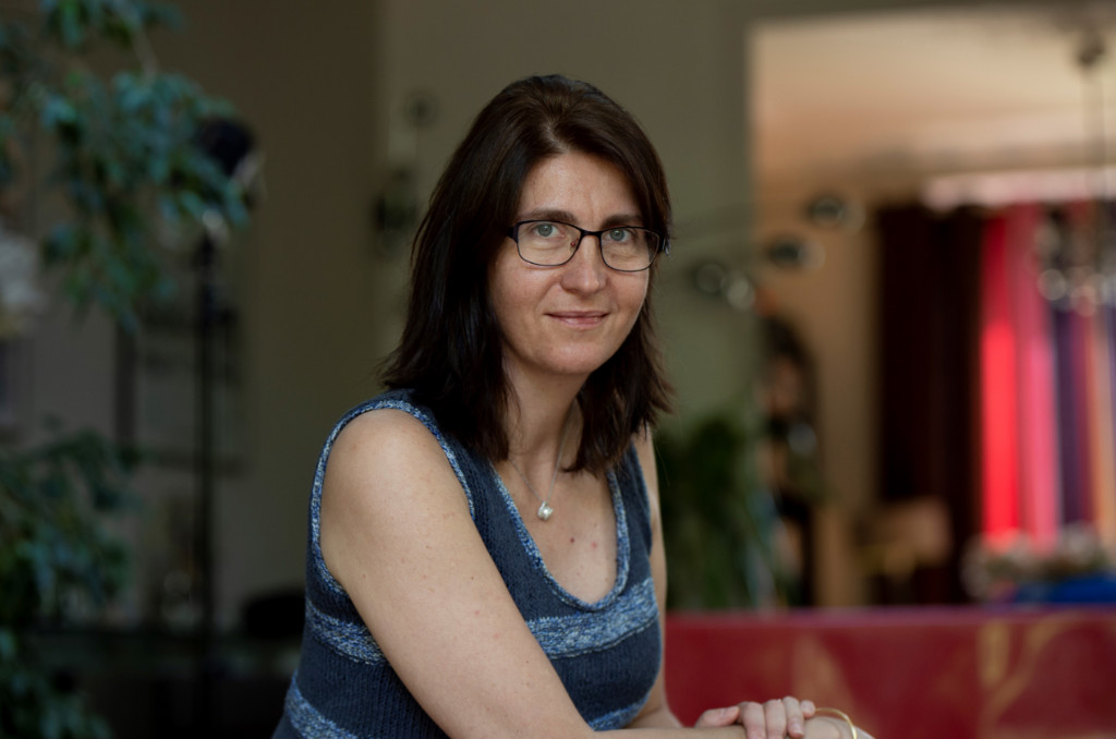 Mireille Landrot, ingénieure EDF à Saint-Denis, et auteure d'un mémoire sur l'école de métiers de Gurcy.