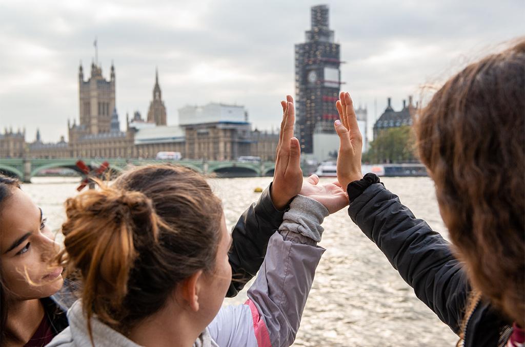 Colo 12-14 ans à Londres, octobre 2018.