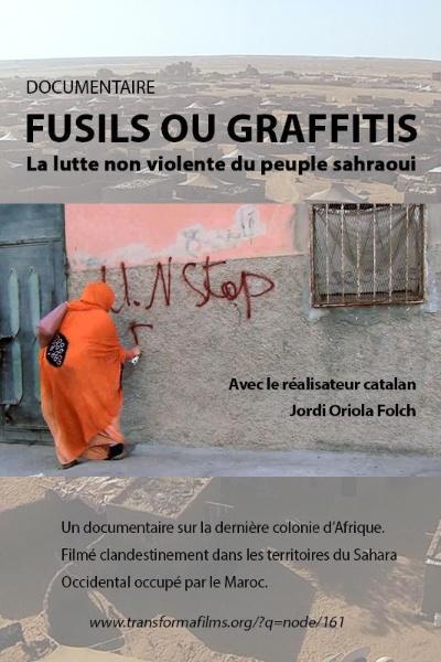 "AFFICHE film ""fusils ou graffitis"", afaspa"