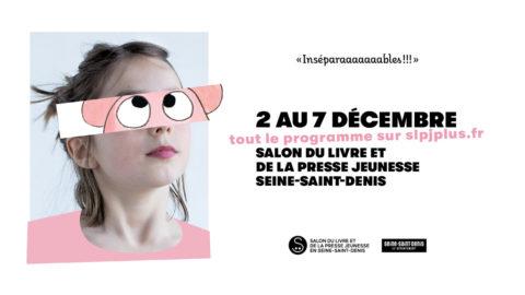 affiche du salon du livre et de la presse jeunesse de Montreuil 2020