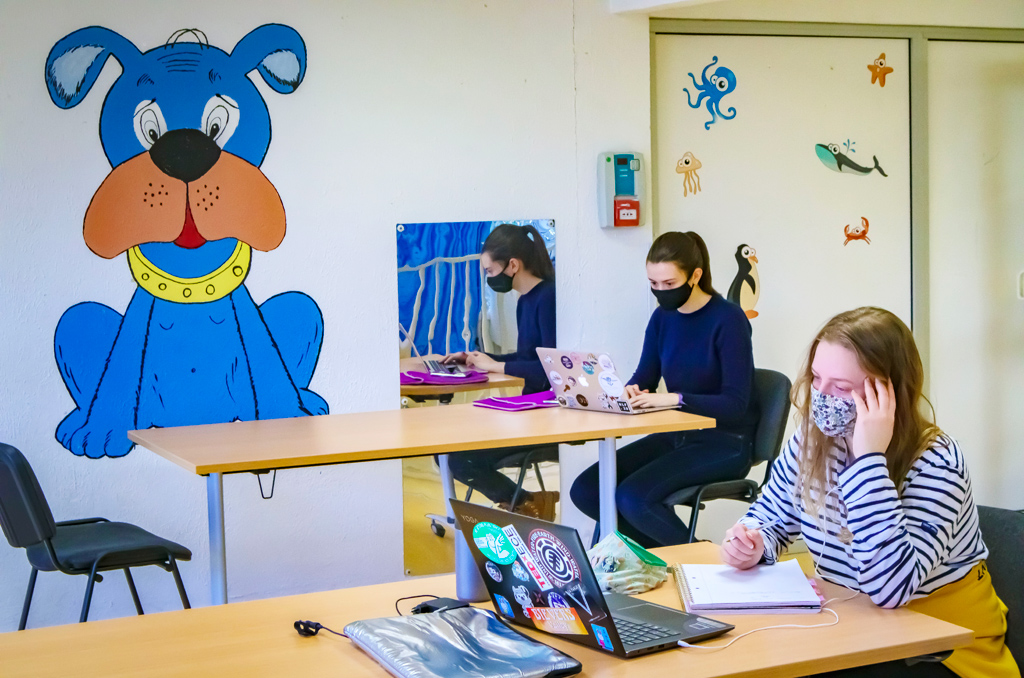 accueil des étudiants bénéficiaires au cap d'agde, janvier 2021
